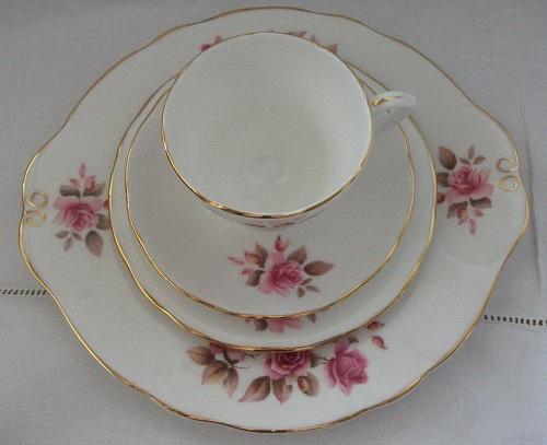 Vintage Bone China Teaset By Duchess Roses